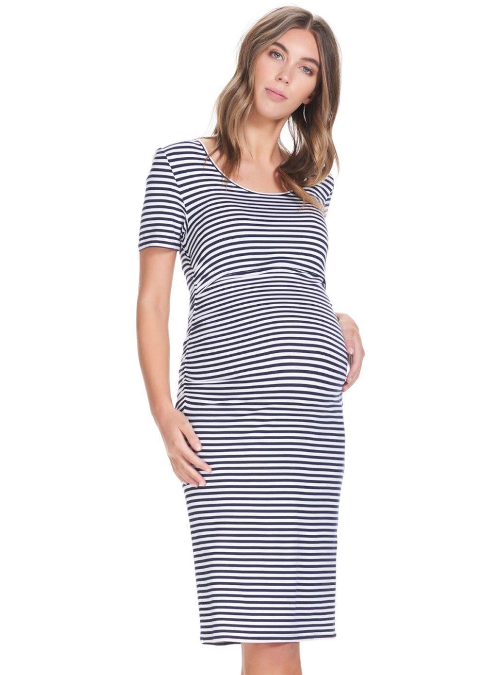 e12e19f6d60dd Soon Maternity - Stella Feeding T-Shirt Dress | Pregos/Nursing ...