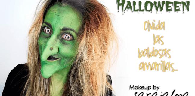 DIY maquillaje halloween bruja clásica Maquillaje de