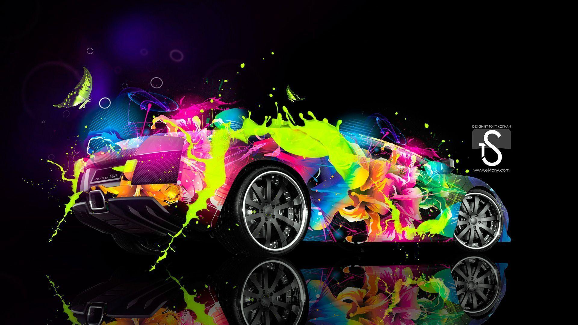 Lamborghini Murcielago Abstract Car 2013 « El Tony