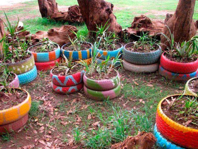 Jardineras con ruedas finest jardinera de palet con - Jardineras con ruedas ...