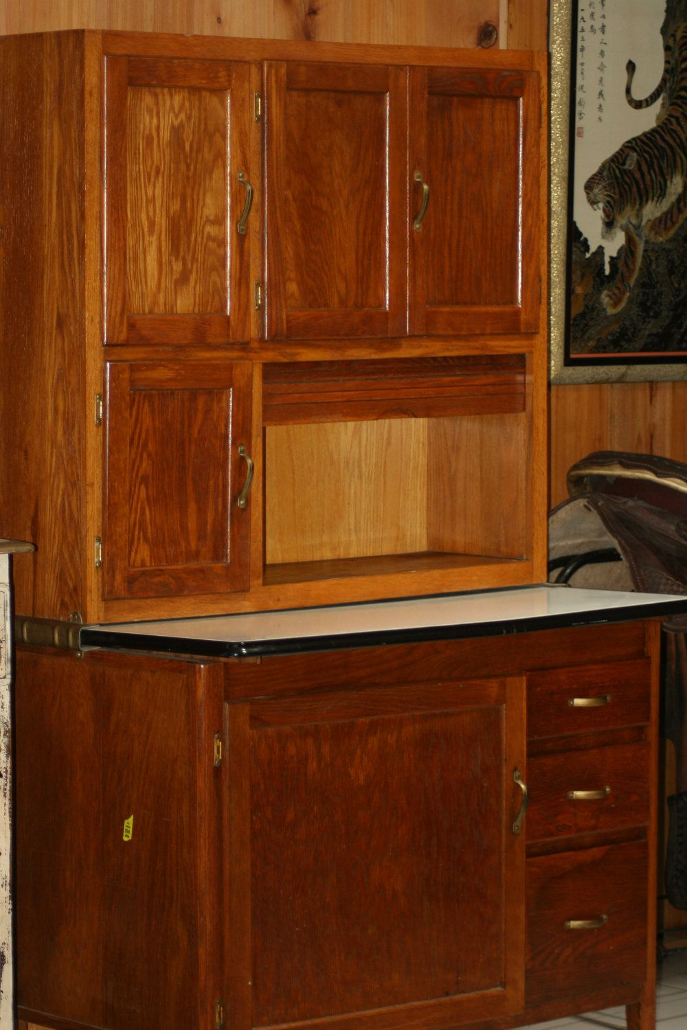 Antique Kitchen Chest Bakers Hutch By Magitoes On Etsy, $2,000.00