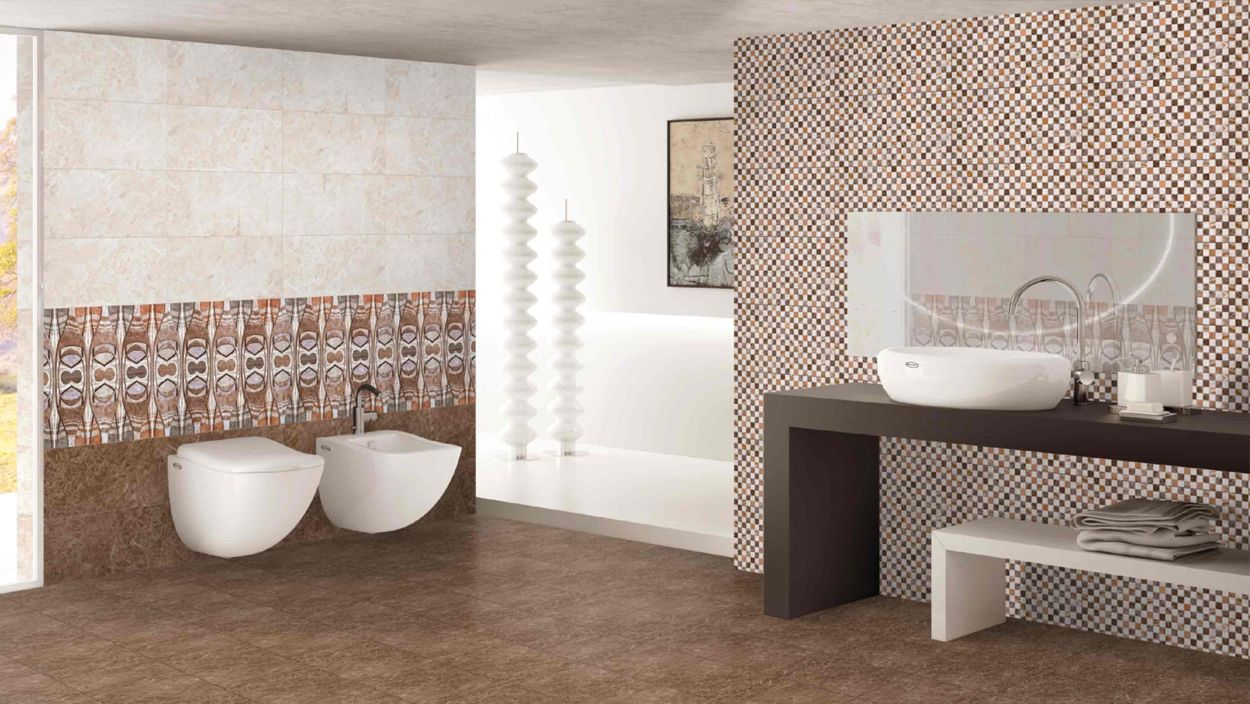 Lovely How to Tile Bathroom Wall