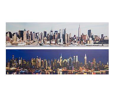Set de 2 lienzos New York - 100x70cm