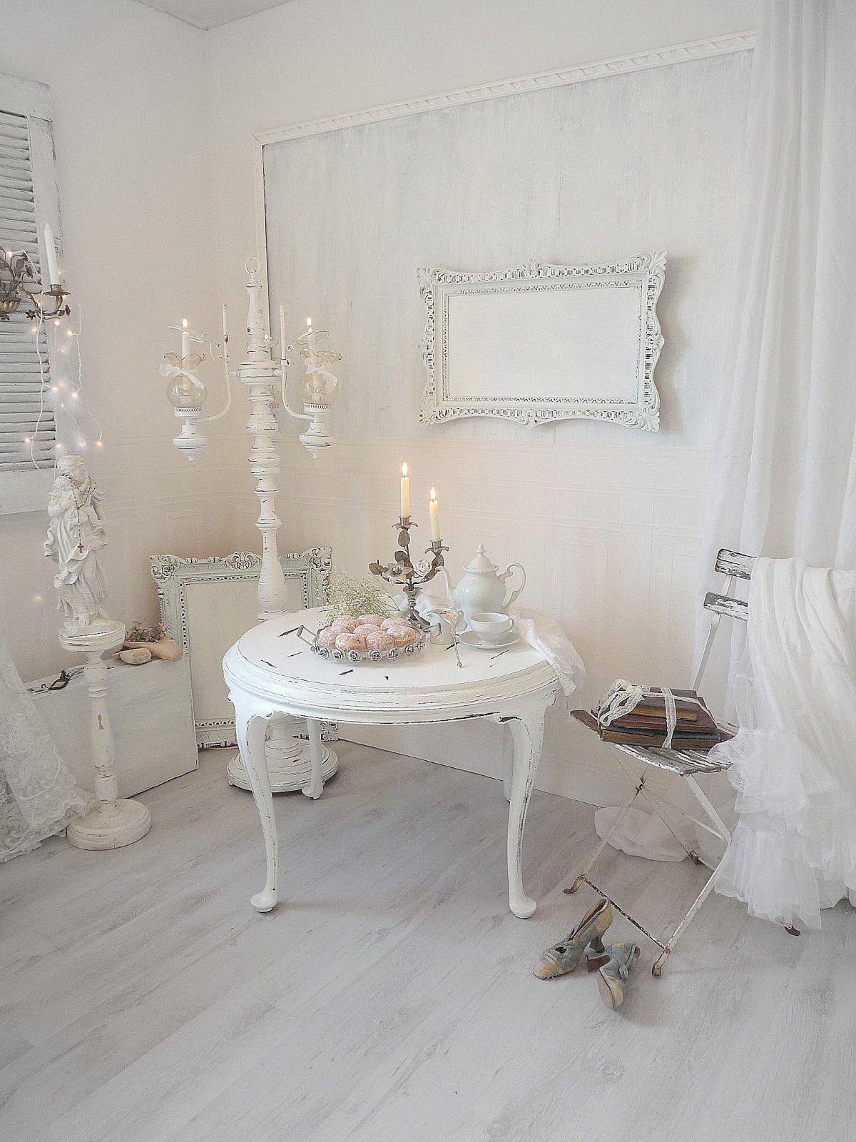 pin von erika m auf shabby chic pinterest shabby chic wohnzimmer und wohnen. Black Bedroom Furniture Sets. Home Design Ideas