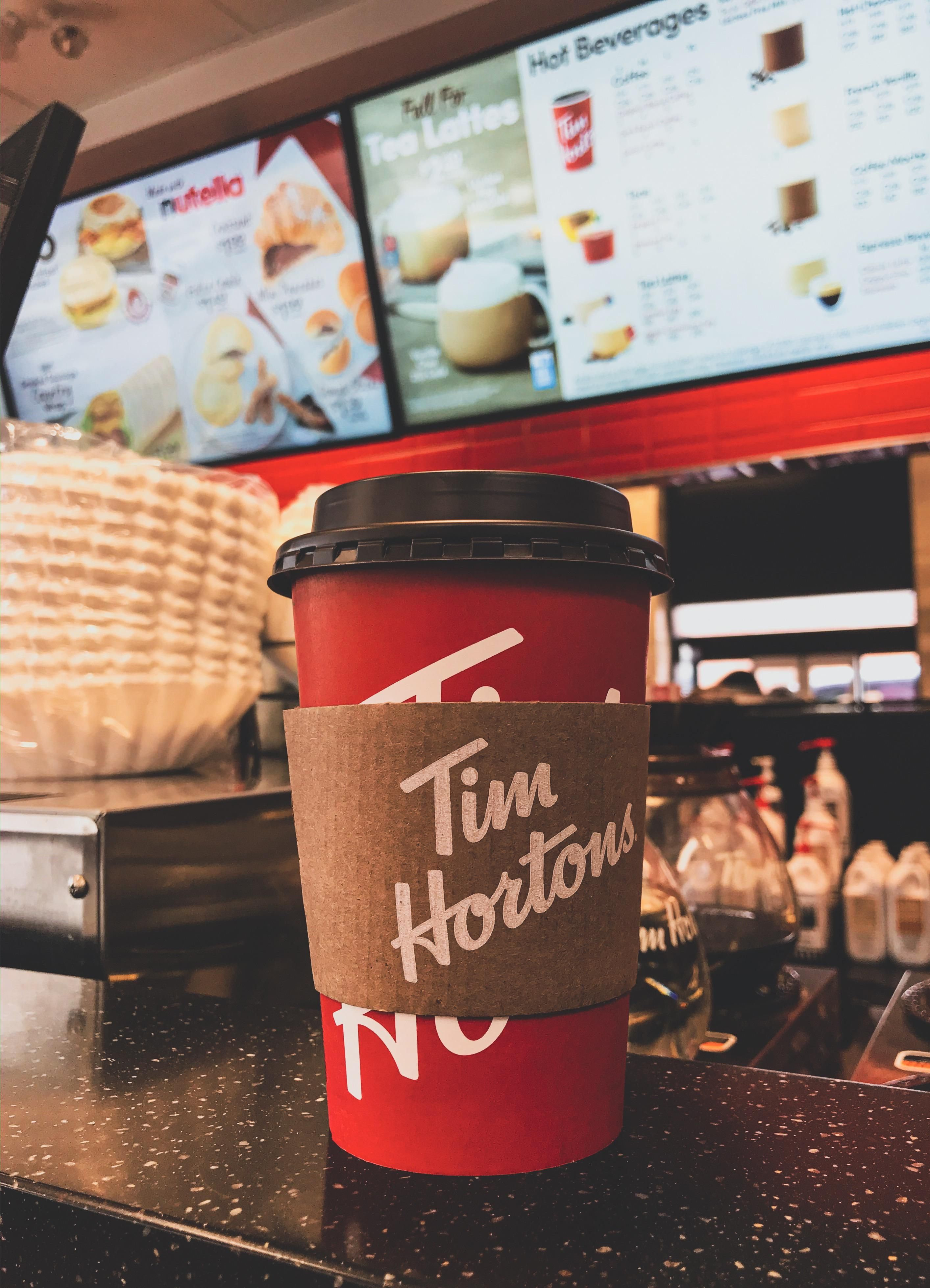 ITAP of my timmies this afternoon ) photo background