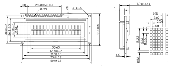 16x2 Lcd Module Pinout Diagrams Description Datasheet In 2020 Lcd Arduino Projects Arduino