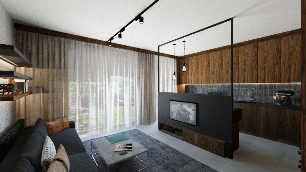 Nowoczesne mieszkanie dla singla; mieszkanie, nowoczesne mieszkanie, trendy, design, architekt