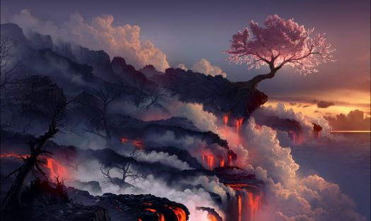 Cool Nature Paintings (336 Pieces) (With Images) Landscape