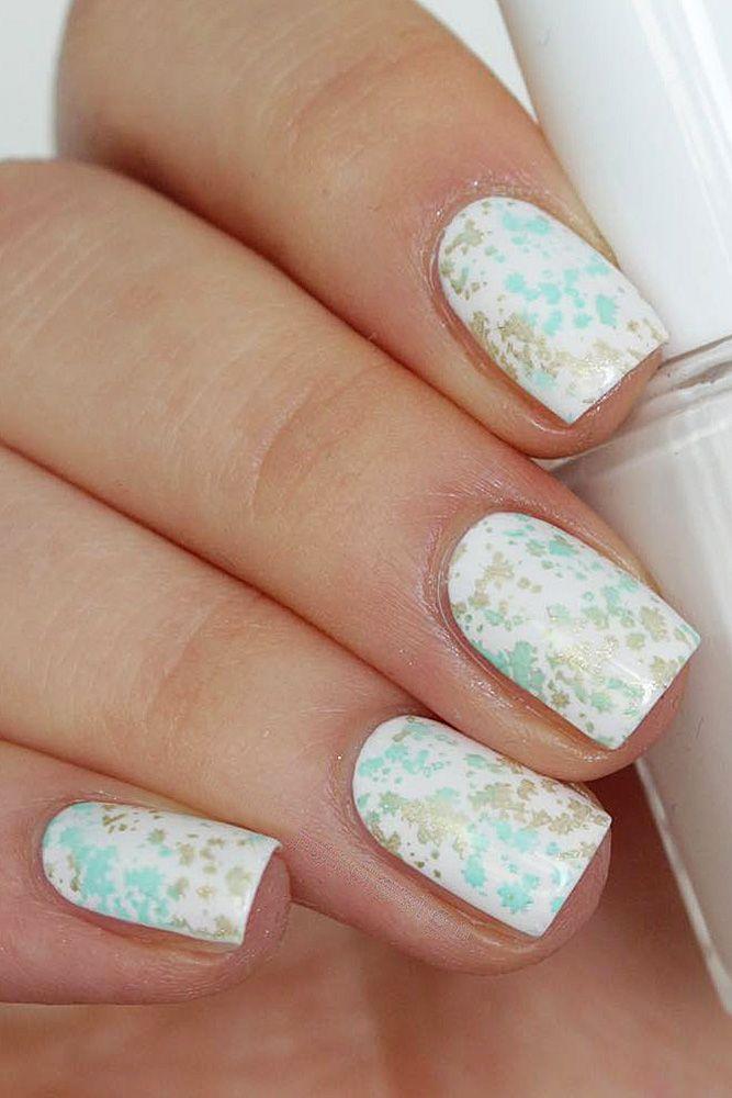 30 White Nail Designs Bridal Ideas Full Of Style   White nail ...