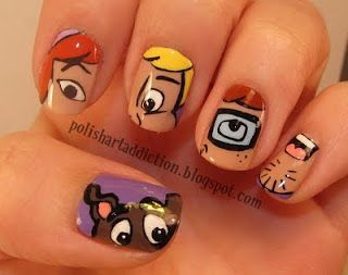 Scooby doo i could never actually make my nails look like this scooby doo i could never actually make my nails look like this but i prinsesfo Image collections