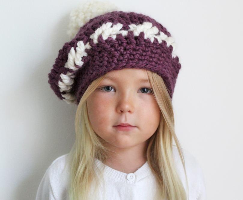 The Barret Tam Crochet Pattern Crochet Accessories Crochet And