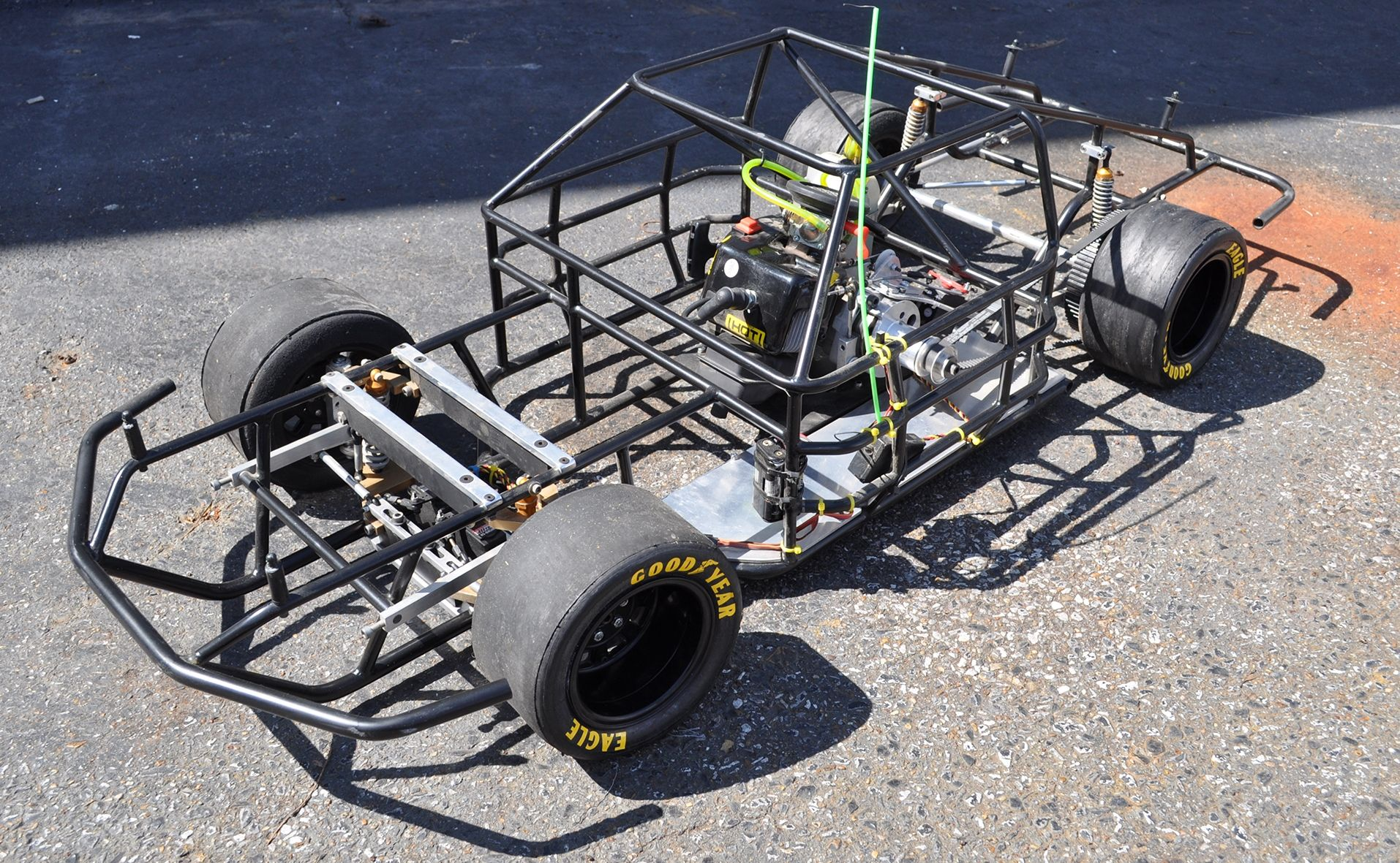Chassis on 1 4 scale rc nascar tony stewartradio controlrc carsnascar remotescaletrucks