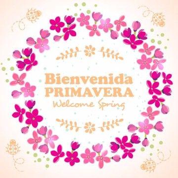 tarjetas de primavera gratis para imprimir | feliz primavera ...