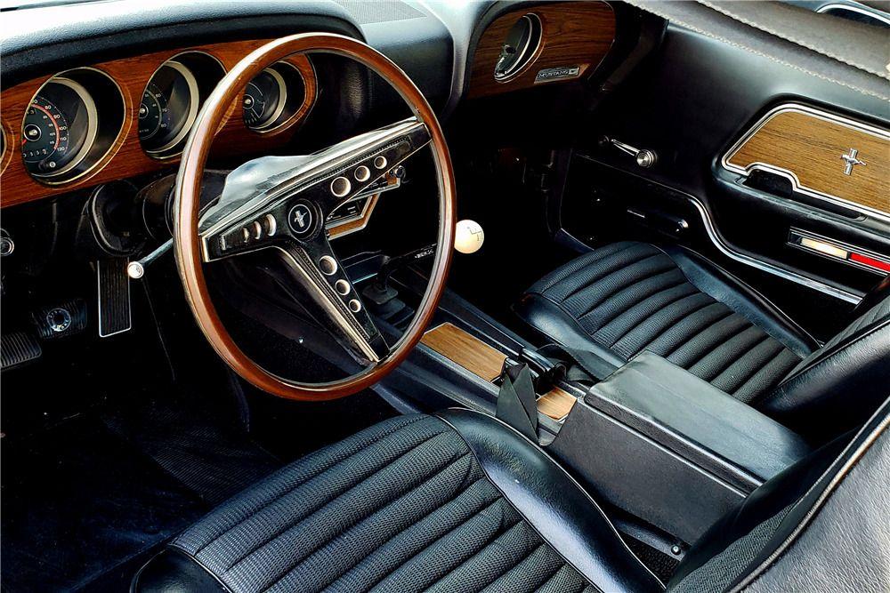 1969 Ford Mustang Boss 302 Fastback Interior 230063 Mustang