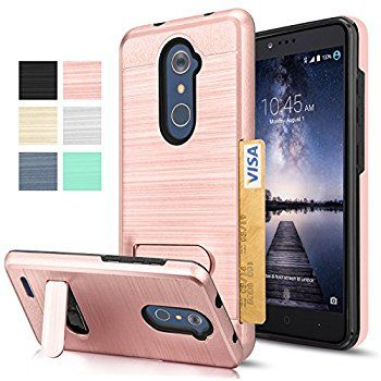 Amazon com: ZTE Grand X MAX 2 Case, ZTE Zmax Pro Case, J&D [Heavy