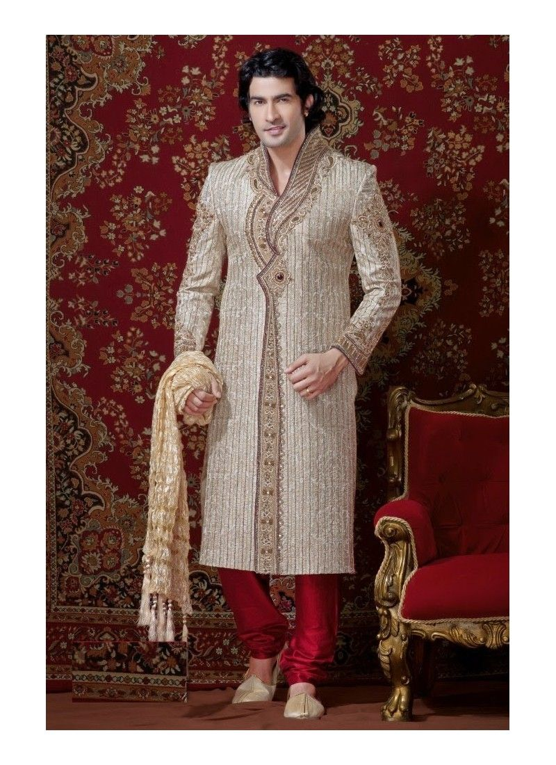 Royal touching groom sherwani model yoshv sherwani pinterest