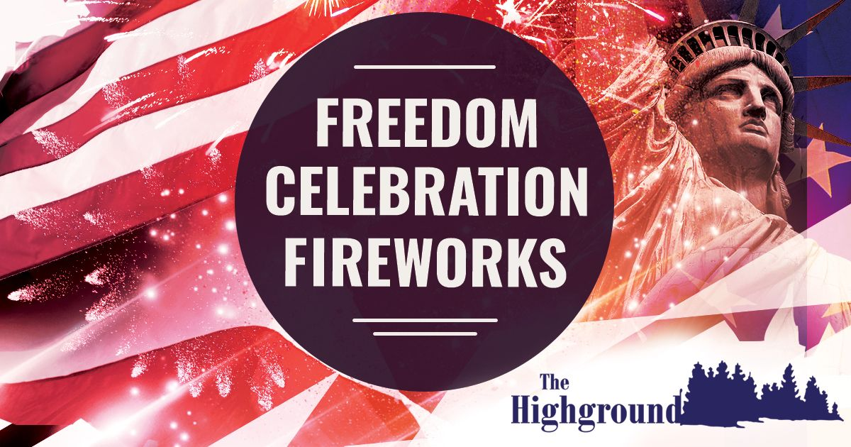 Who S Coming To Thehighground Freedom Celebration Fireworks On June 27 The Show Started At 9 30pm Visit Https Loom Ly Xima Event Event Calendar Fireworks