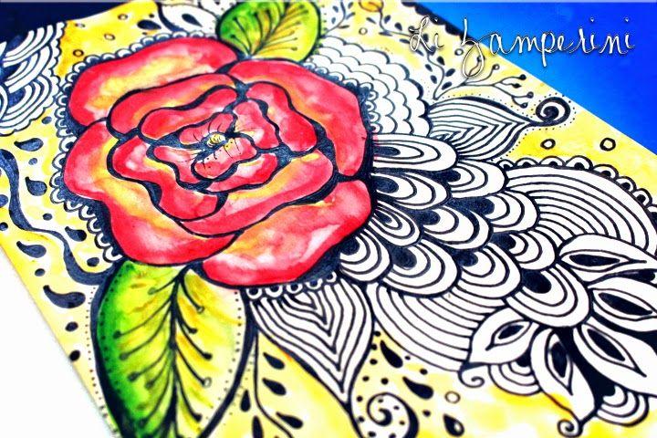 Enchanted Studio: Draw - Watercolor & pen