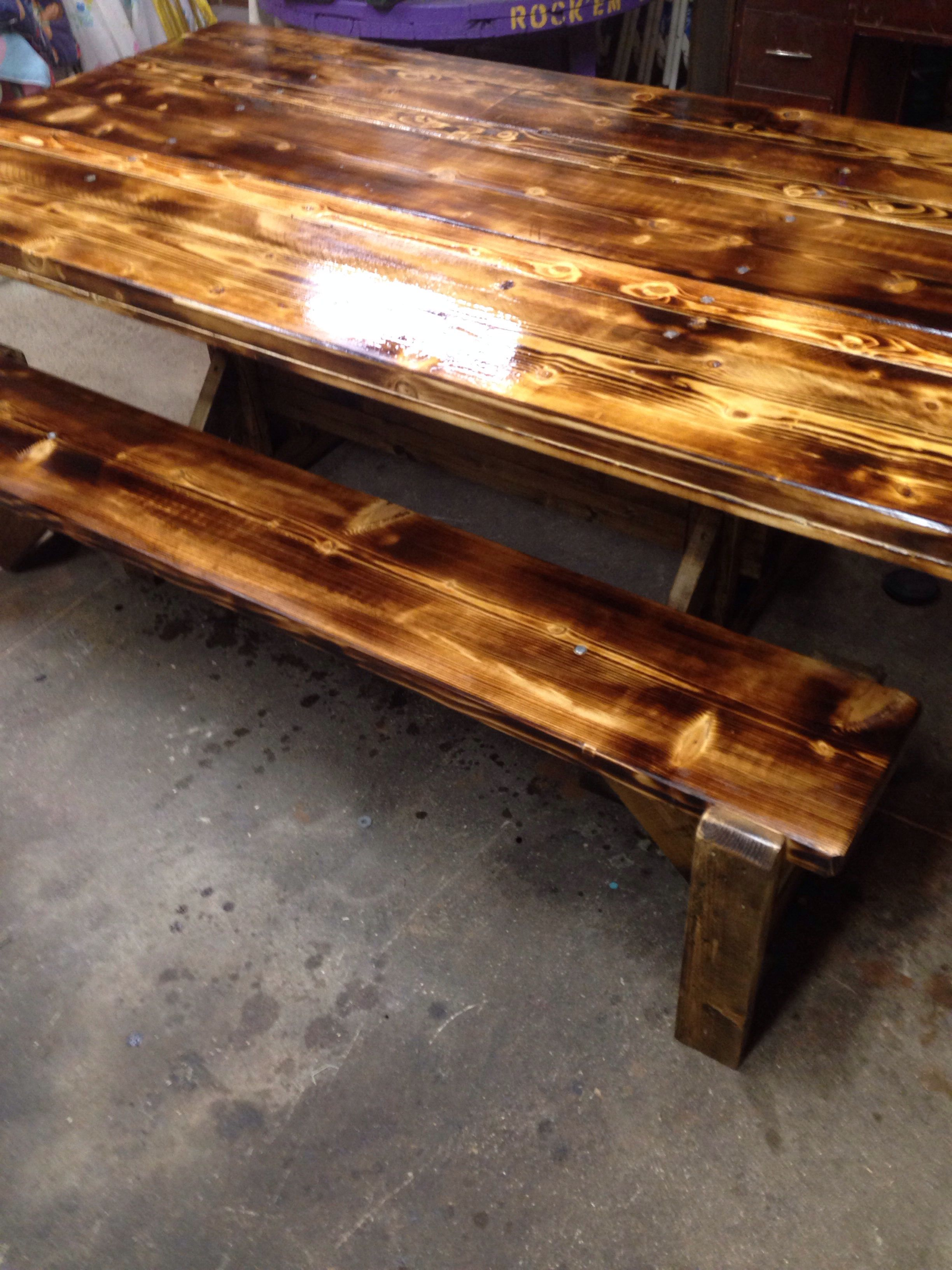 Our Trestle Diningtable Bases Are Like No Other Out There