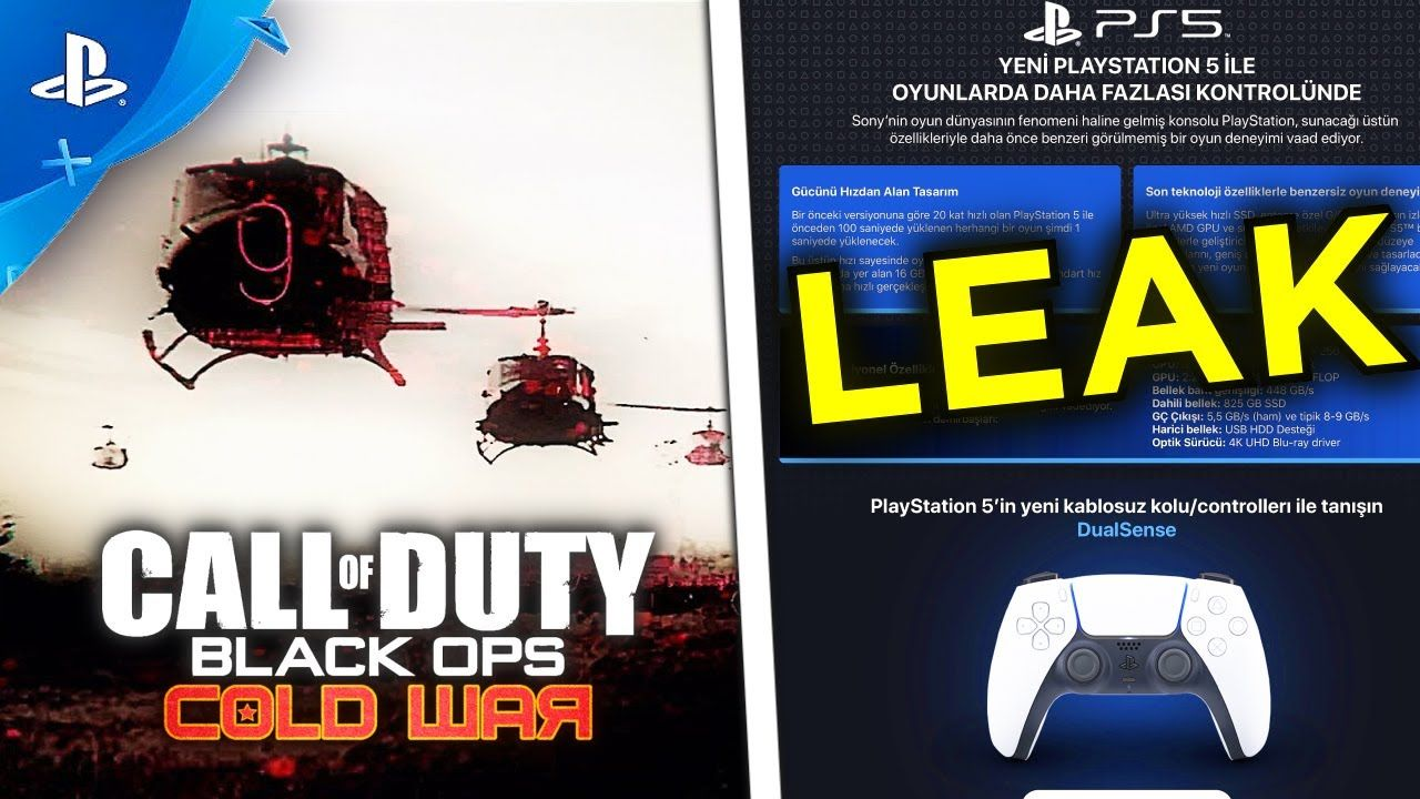 PS5 GAMEPLAY CANCELED, Big PS5 Leak CALL OF DUTY 2020