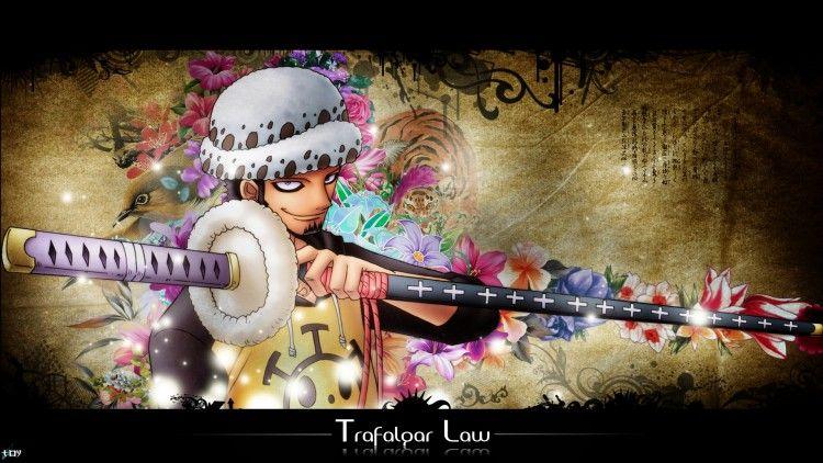 Fonds D Ecran Manga Fonds D Ecran One Piece Law Par Toybo Hebus Com Anime Fond Ecran Manga