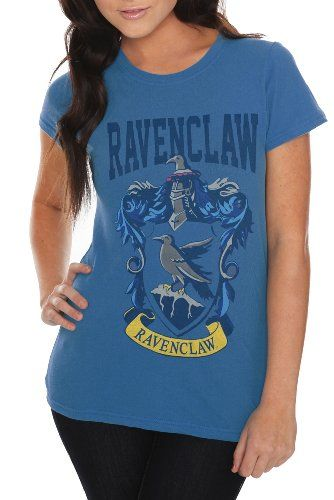 8f7767562d6 Harry Potter And The Deathly Hallows Ravenclaw Crest Girls T-Shirt Plus Size