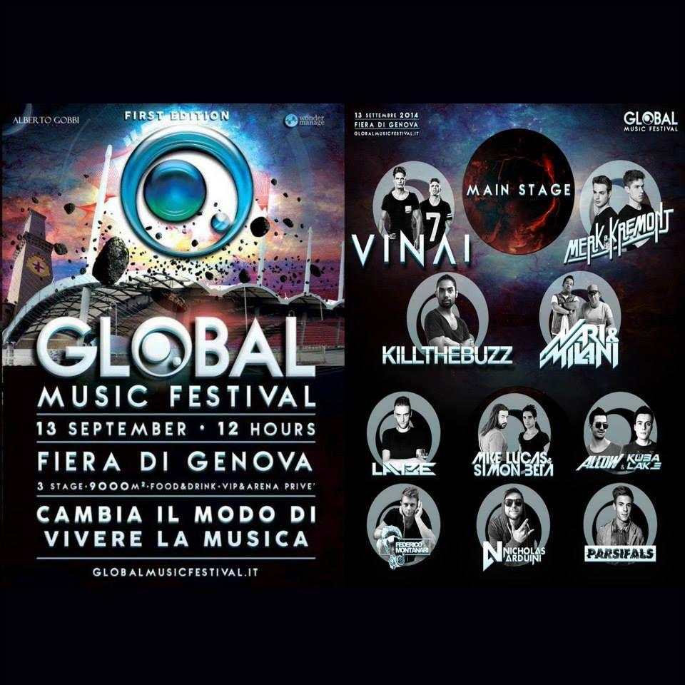 Global Music Festival (Genova) 13-09-2014