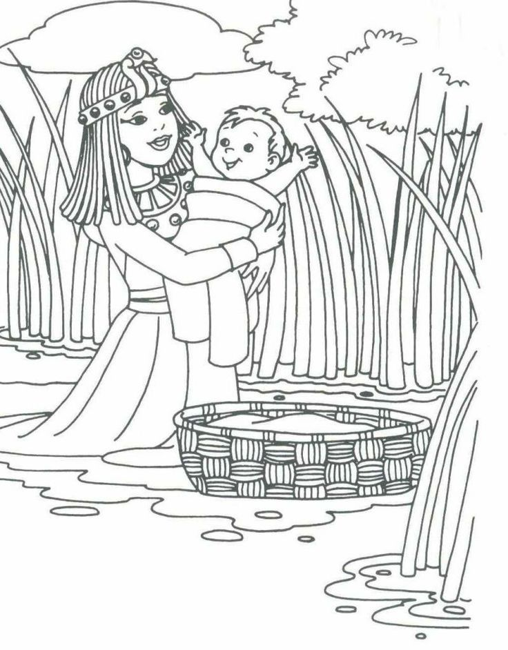 Baby Moses for Preschool | Baby Moses | *Bible:Moses | Pinterest ...