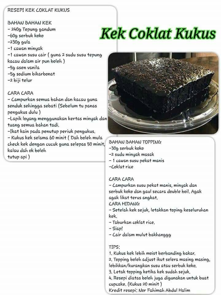 Pin By Susdifriawan On Foooooooood Cake Recipes Steam Recipes Steamed Cake