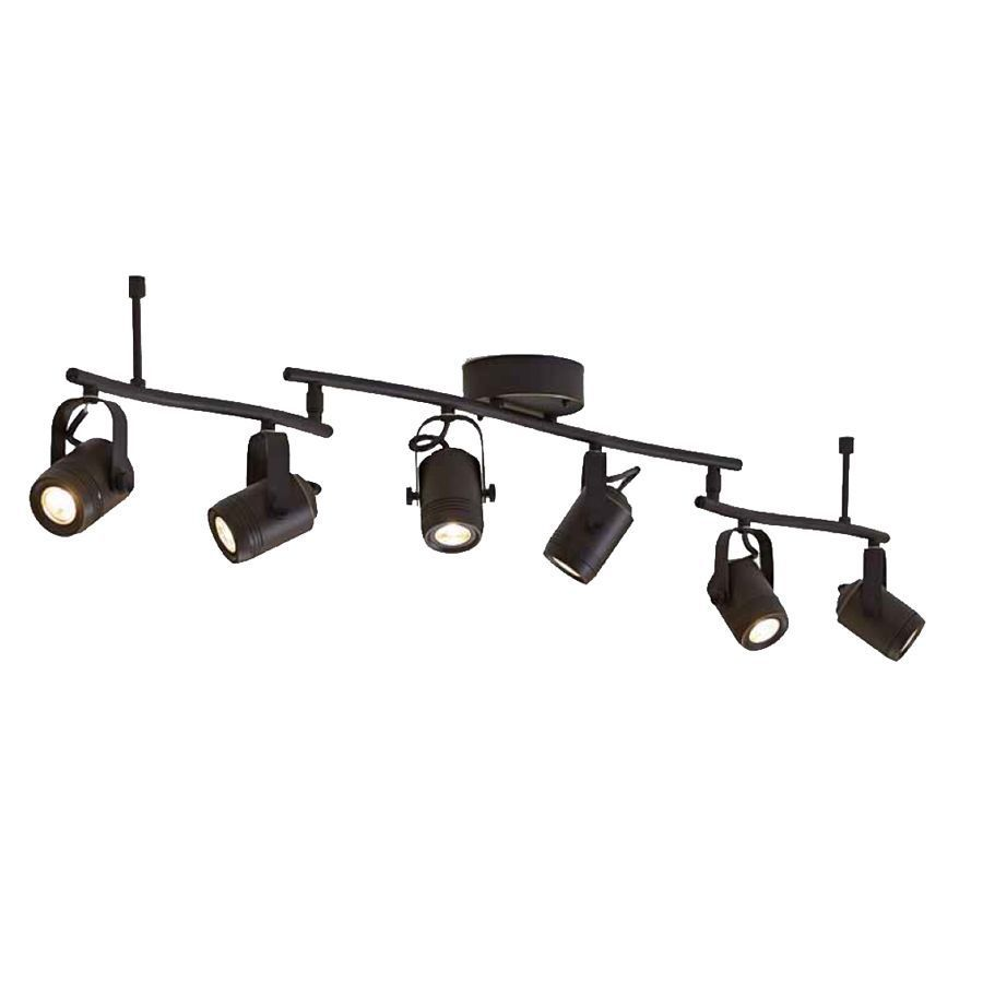 Allen roth tyslow 6 light 458 in bronze dimmable led fixed track allen roth tyslow 6 light 458 in bronze dimmable led fixed track light mozeypictures Image collections