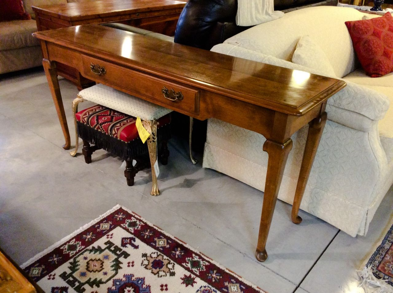 Ethan Allen Sofa Tables Rustic Home Office Furniture Check More