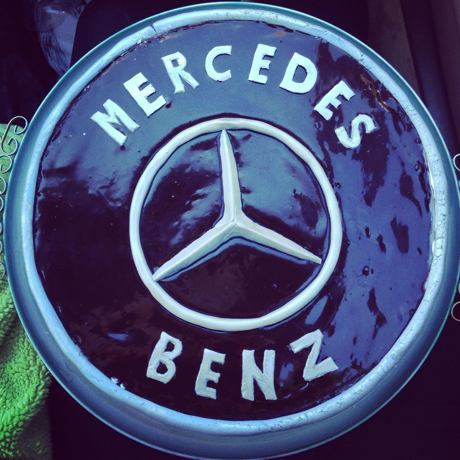 This is going to be my cake for my 13th birthday for Mercedes benz cake design