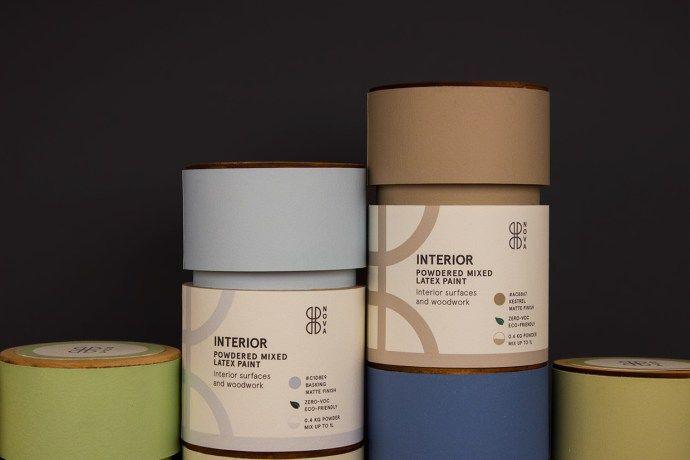 優雅木製 油漆粉包裝 | MyDesy 淘靈感