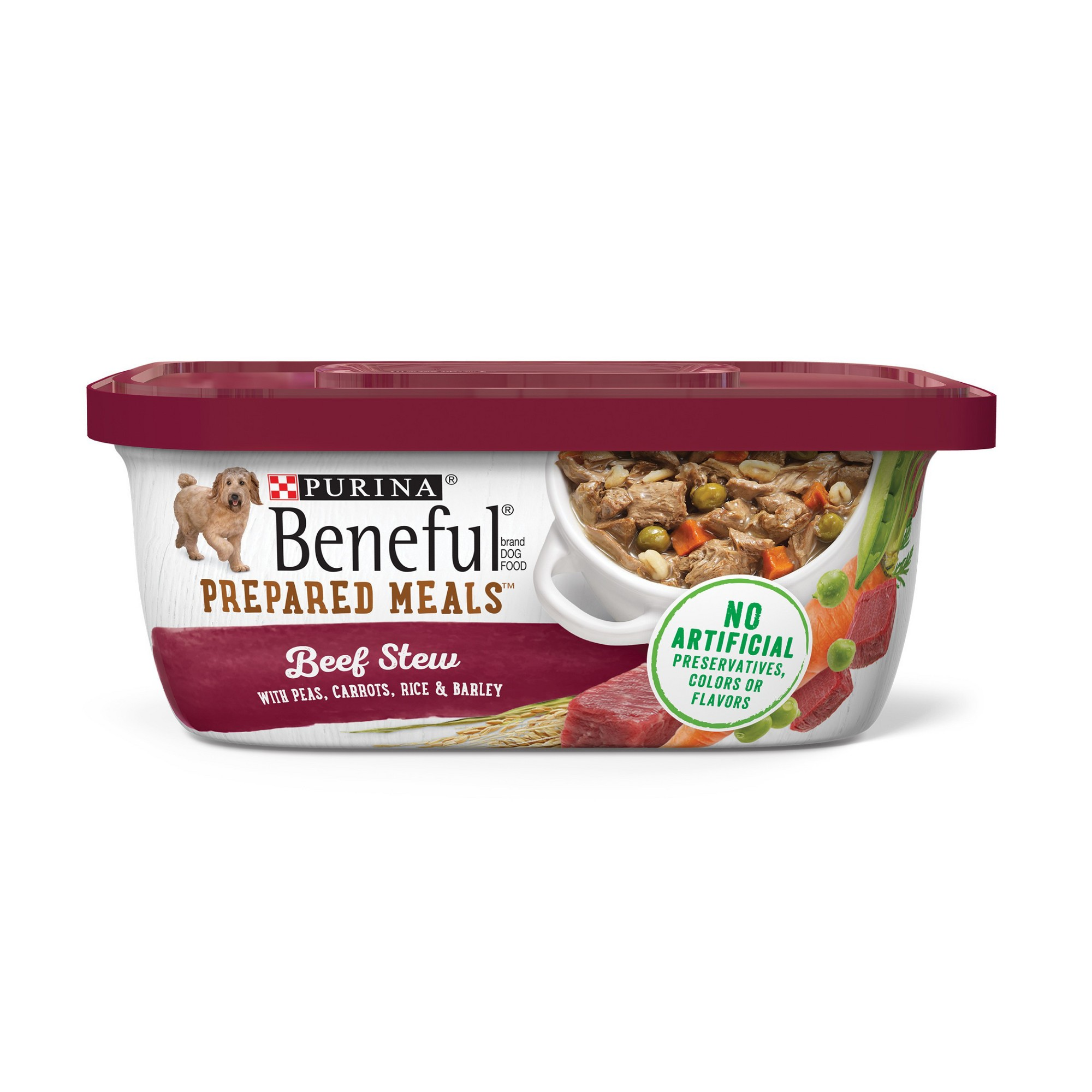 Beneful Prepared Meals Beef Stew Wet Dog Food 10oz Products In