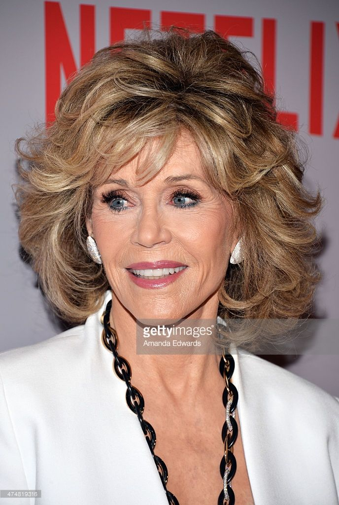 Actress Jane Fonda arrives at Netflix's 'Grace & Frankie' For Your Consideration Q&A screening event at the Pacific Design Center on May 26, 2015 in West Hollywood, California.