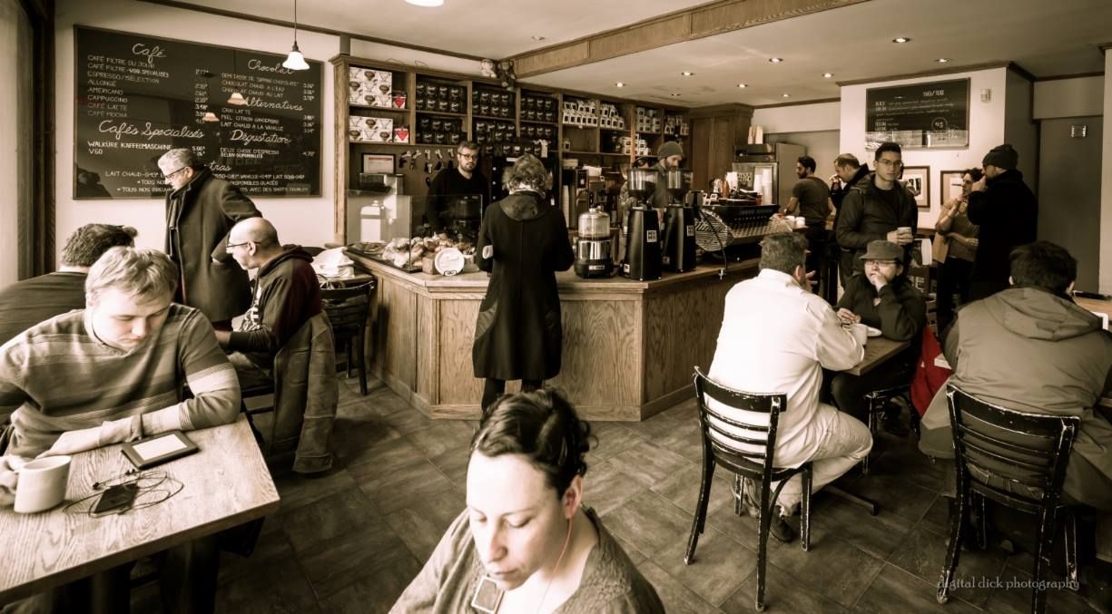 The Monster Map Of Montreal Coffee Shops Best Coffee Shop Montreal Best Coffee