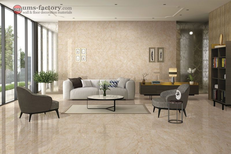 Beige Tile 7xk12006p 60x120cm Soft Polished Tiles Https Www Ums Factory Com Polished Porcelai Beige Living Rooms Tile Floor Living Room Porcelain Wall Tile