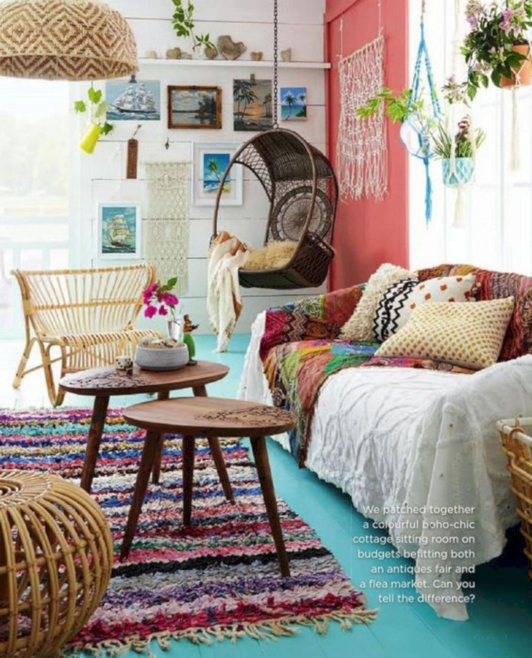 Top 25 Easy Diy Hippie Decor For Simple Home Interior Decorating Ideas Freshouz Com With Images Bohemian Style Living Room Bohemian Living Room Boho Living Room