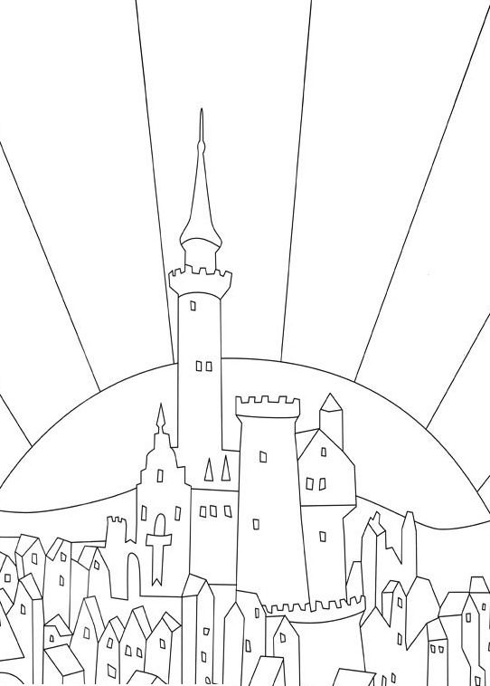 The tale of Despereaux coloring pages on Coloring-Book.info | 758x542