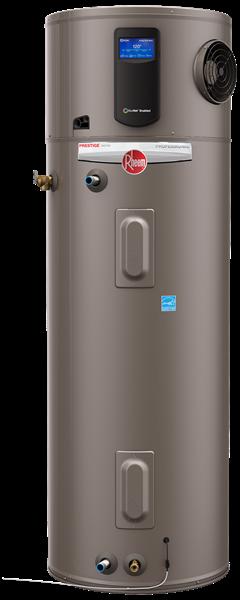Rheem Professional Prestige Series Hybrid Electric Water Heater Series Electric Water Heater Water Heater Hybrid Water Heaters