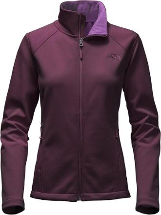 ec2356c9d5 The North Face Women s Canyonwall Fleece Jacket Blackberry Wine XS ...