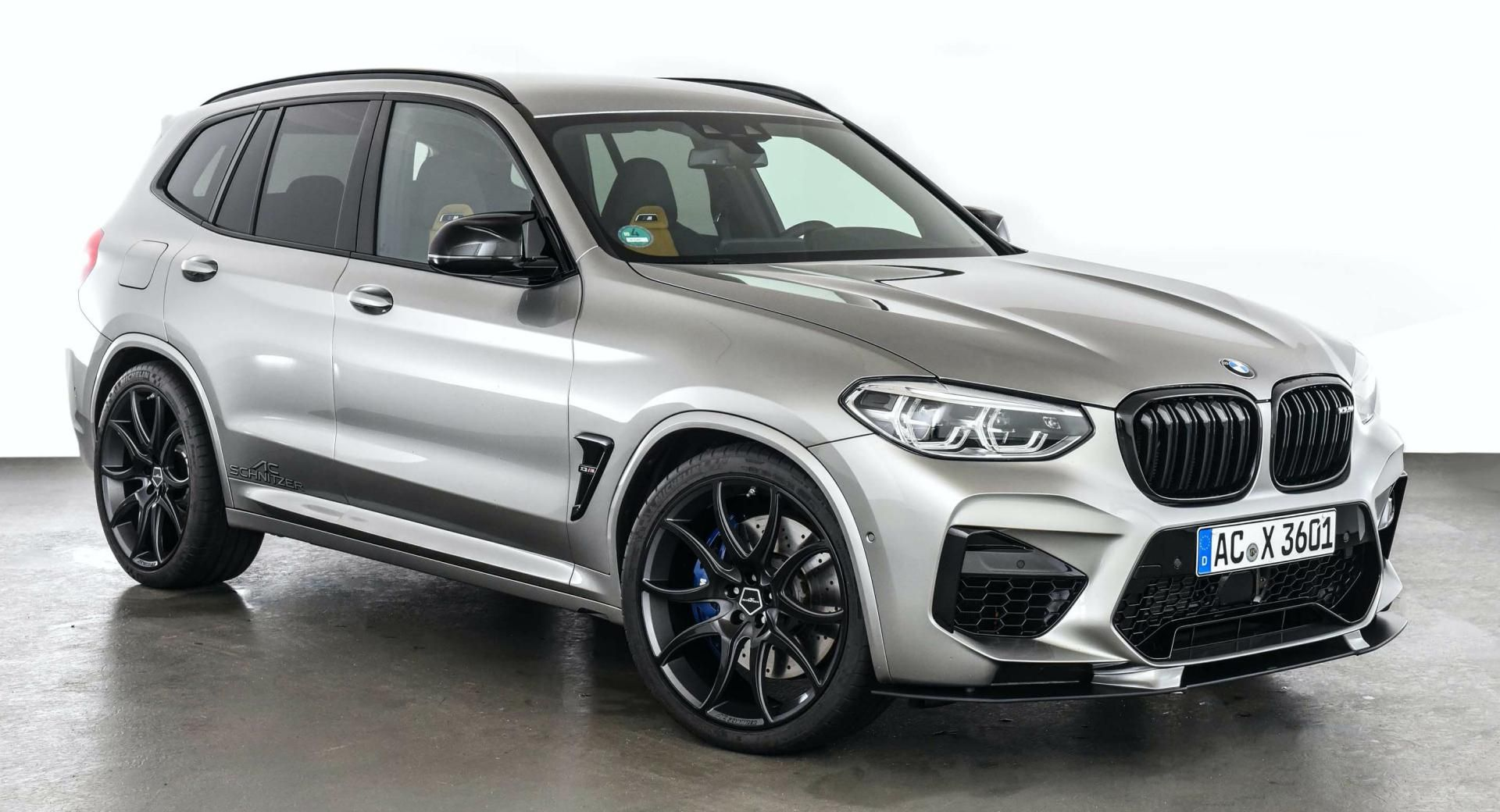 BMW X3 M Competition Graduates AC Schnitzer's Training