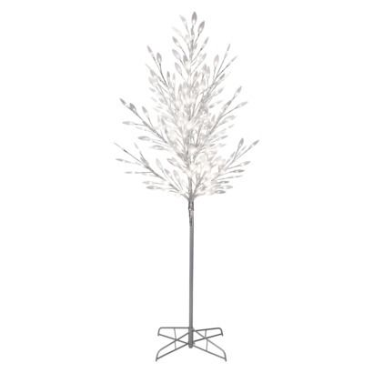 5 Philips Pre Lit Led Pure White Tree White Lights