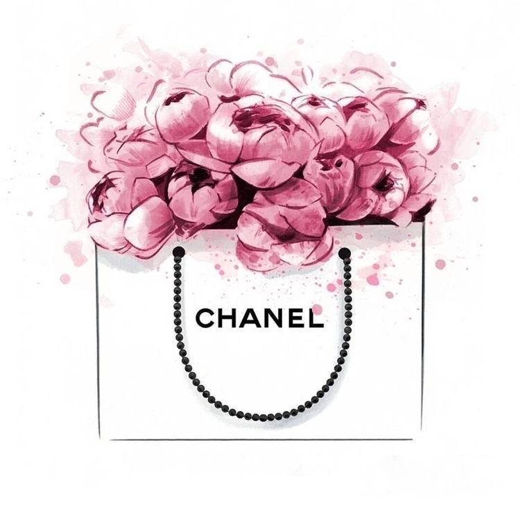 Chanel Book Cover Printable : Chanel no perfume flower art image a poster gloss print