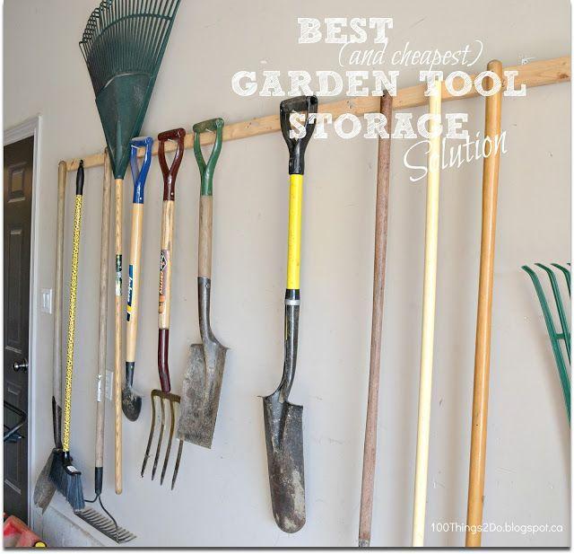 Good Garden Tool Organization