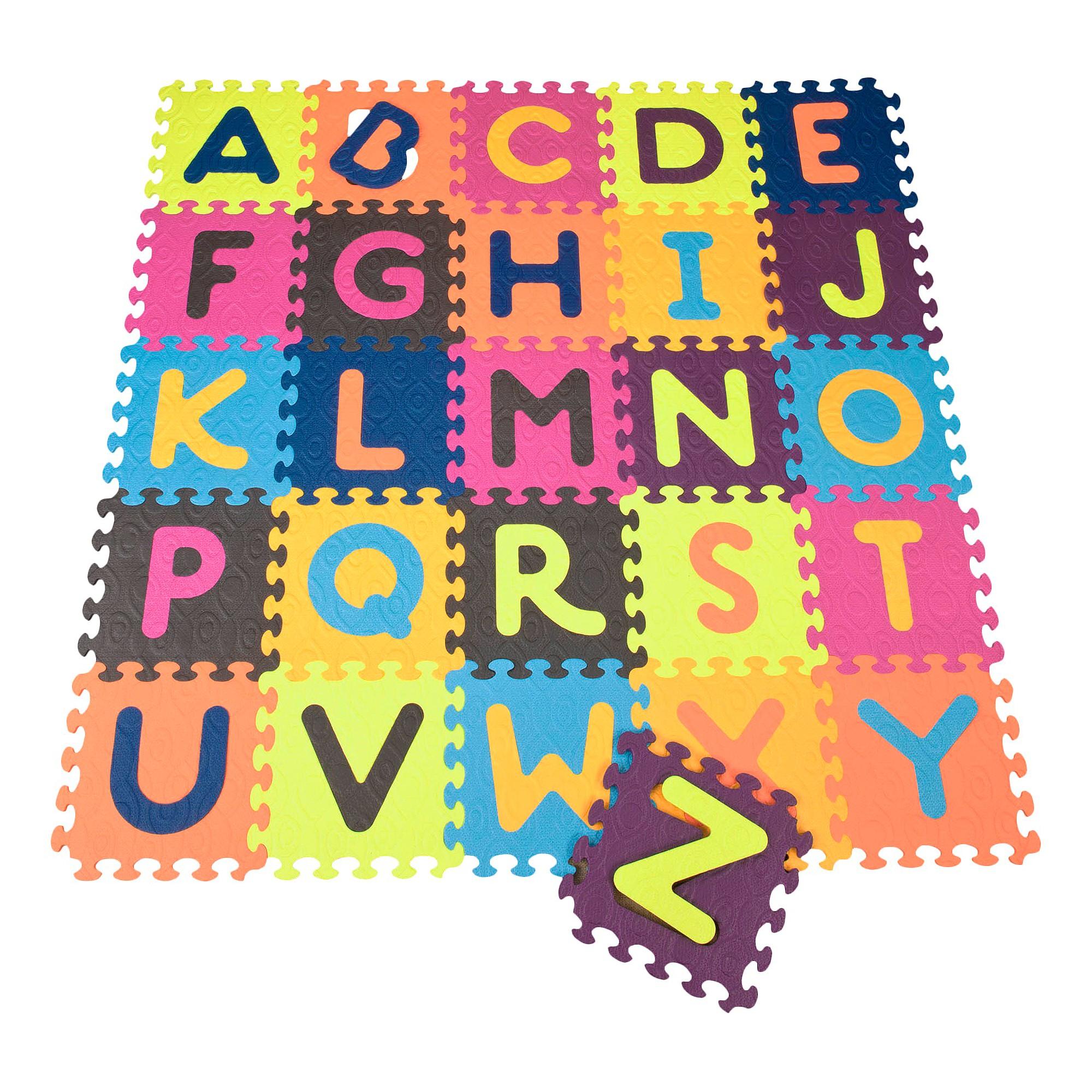 B Toys Alphabet Foam Floor Puzzle Beautifloor 26pc Foam Flooring Foam Tiles Floor Puzzle
