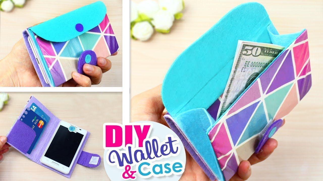 DIY PHONE CASE WALLET // Flip Phone Case Tutorial with Cam