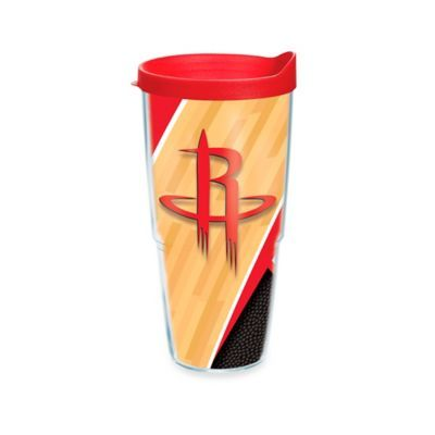 ce7b655c0fe Tervis Nba Houston Rockets 24 Oz. Court Wrap Tumbler With Lid Clear ...