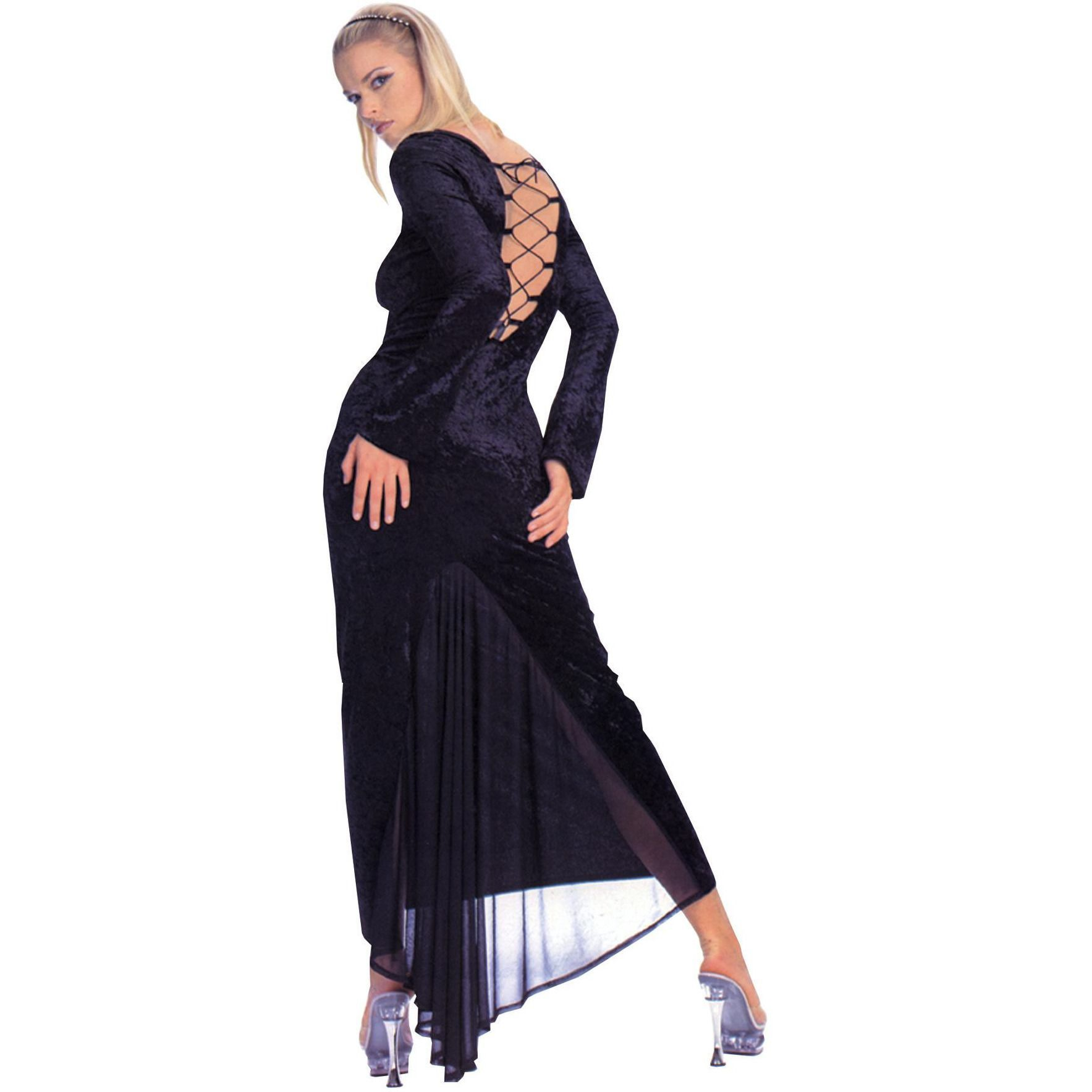 Dress gothic velvet sml med products pinterest products