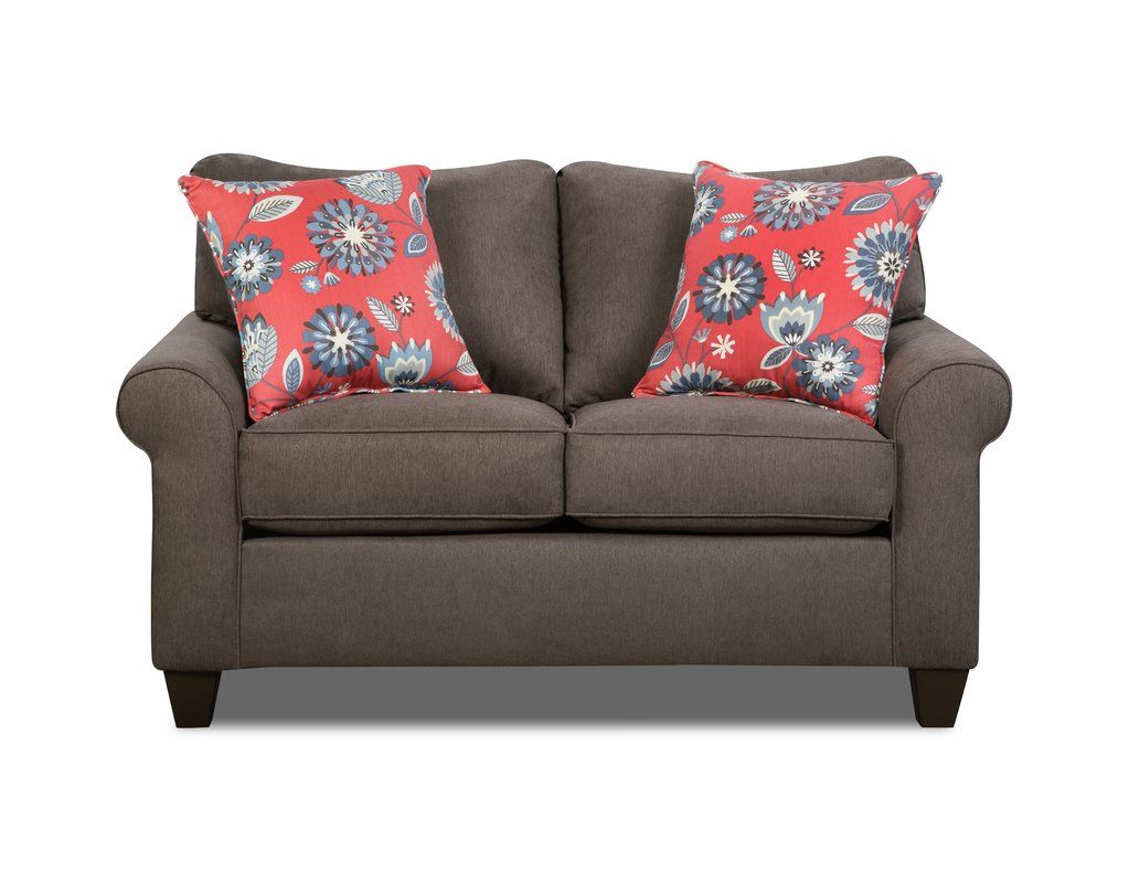 Online Ping Top Rated Bloomington Loveseat By Simmons Upholstery Darby Home Co
